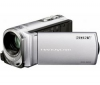SONY Videokamera DCR-SX53 strieborná + Čítačka kariet 1000 & 1 USB 2.0 + Pamäťová karta SDHC 4 GB