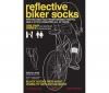 SUCK UK Reflective cycling socks - Reflexné ponožky pre cyklistov