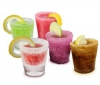 T-UP Ice Shot Glasses - sada 12 pohárov