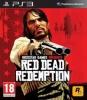 TAKE 2 Red Dead Redemption [PS3] (dovoz UK) + Gamepad Dualshock 3 - červený
