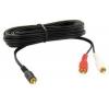 THOMSON Audio kábel - RCA samec / 2 RCA samica 3.5 mm OR - 2m