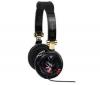 TNB Slúchadlá Music Trend Rock + Adaptér Jack samica stereo 3,52 mm kovový/Jack samec stereo 6,35 mm kovový - Pozlátený