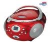 TOKAI Rádio CD/MP3 USB  LRL-1913R červené