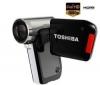 TOSHIBA Camileo P30 High Definition Camcorder + Púzdro Pix Compact + Batéria lithium-ion PX-1425 + Pamäťová karta SDHC 8 GB + Čítačka kariet 1000 & 1 USB 2.0