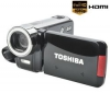 TOSHIBA HD videokamera Camileo H30 + Brašna + Pamäťová karta SDHC 8 GB + Čítačka kariet 1000 & 1 USB 2.0