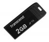 TRANSCEND Kľúč USB JetfFlash T3 2 GB - čierny