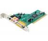 TRUST Audio karta PCI Surround 5.1 SC-5100 + Kábel RCA Jack stereo samec/samec - 2 m