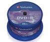 VERBATIM DVD+R 4,7 GB (balenie 50 ks) + RBNW-224 CD case