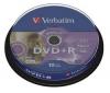 VERBATIM DVD+R LightScribe 4,7 GB (balenie 10 ks)