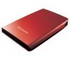 VERBATIM Prenosný externý pevný disk Store 'n' Go USB 2.0 - 320 GB - červený