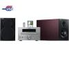 YAMAHA Mikro veža CD/USB/MP3/WMA MCR-230 strieborná + Slúchadlá Philips SHE8500