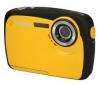 YASHICA APW10 - žltý + Puzdro Pix Ultra Compact + Pamäťová karta SD 2 GB